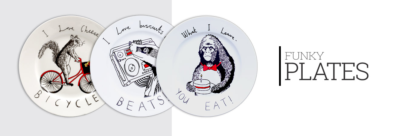 Funky Plates