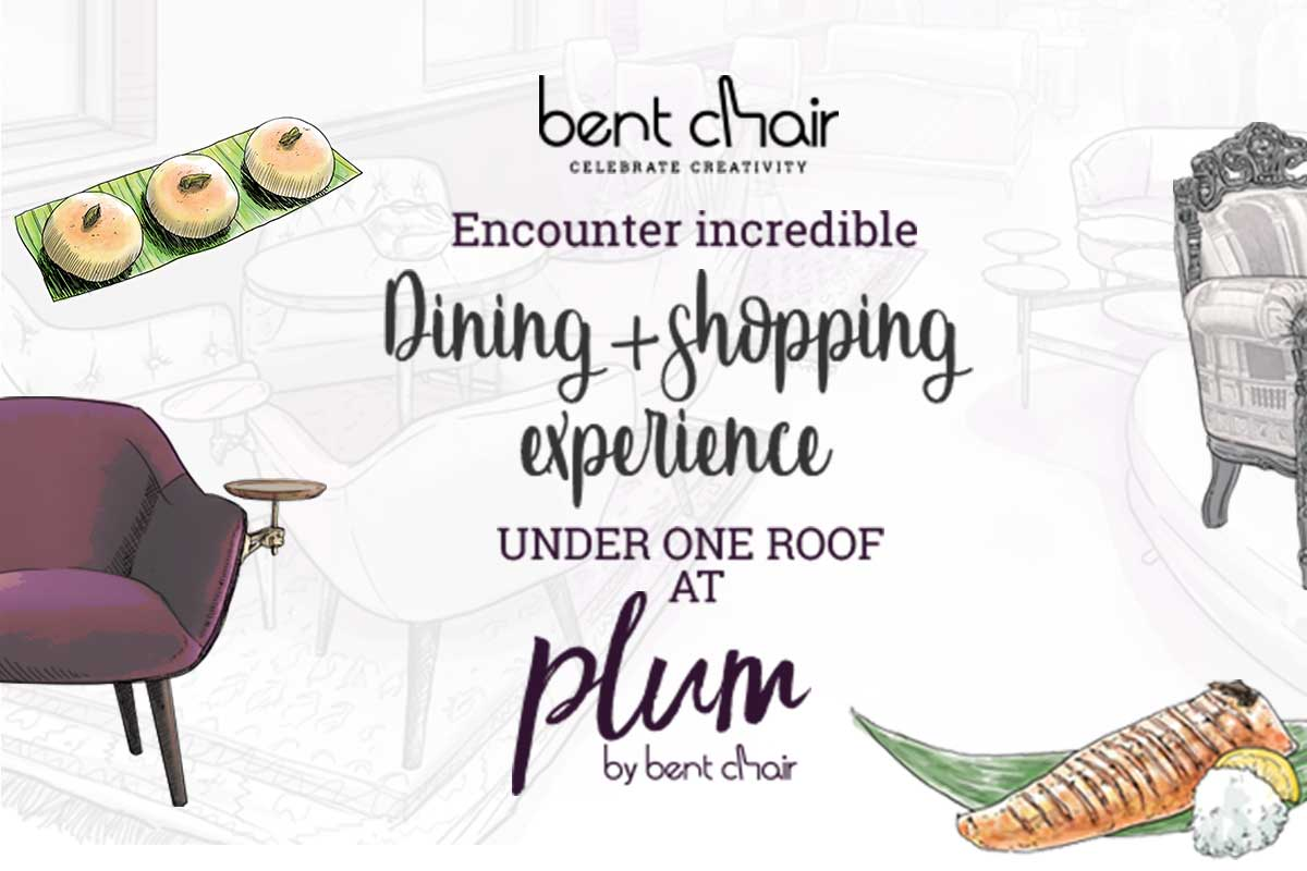 Plum by Bent Chair