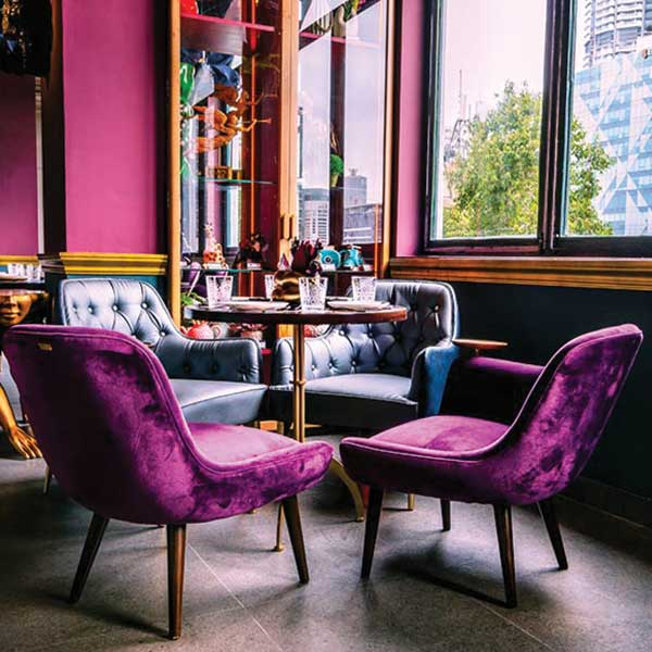 Plum Interior Look by Bent Chair