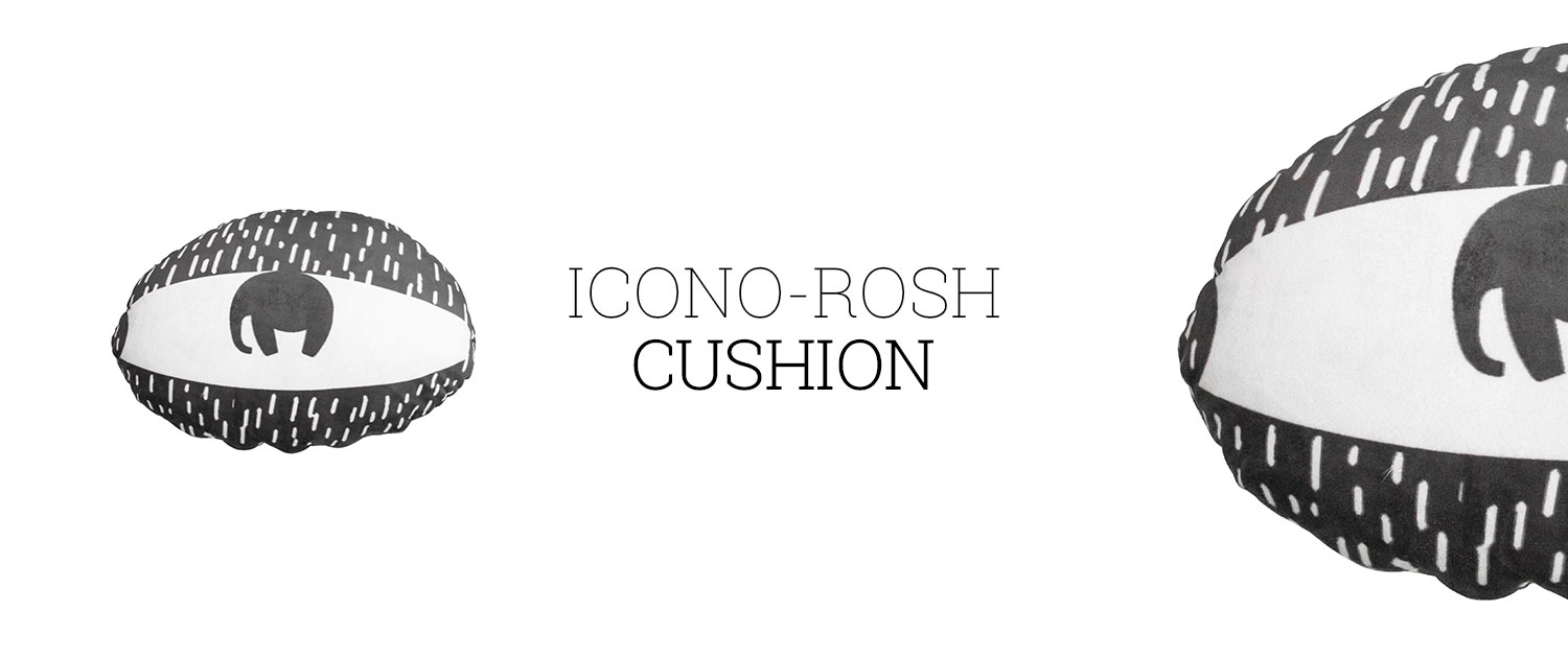 Icono-rosh Cushion