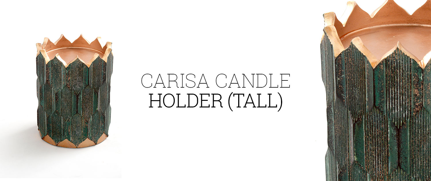Carisa Candle Holder (Tall)