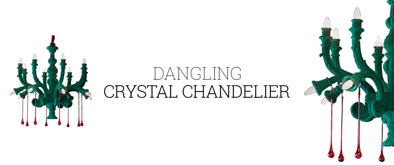 Dangling Crystal Chandelier