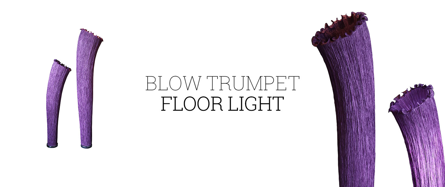 Blow Trumpet Floor Light