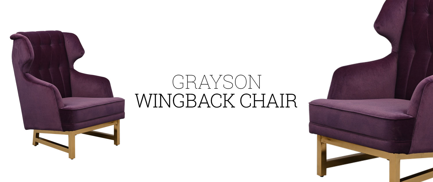 Grayson Wingback Chair