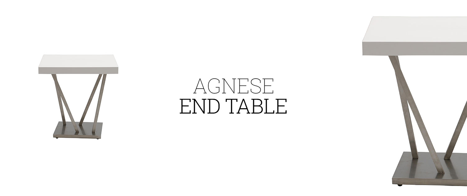 Agnese End Table