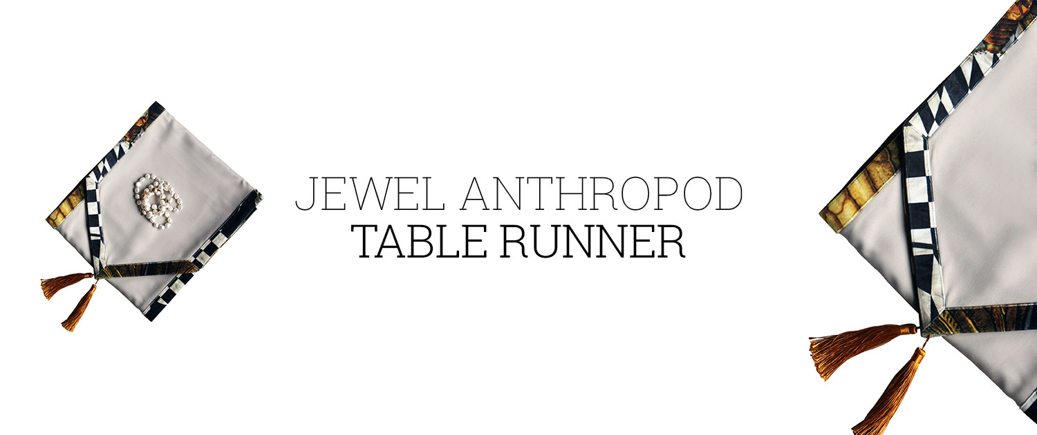Jewel Anthropod Table Runner