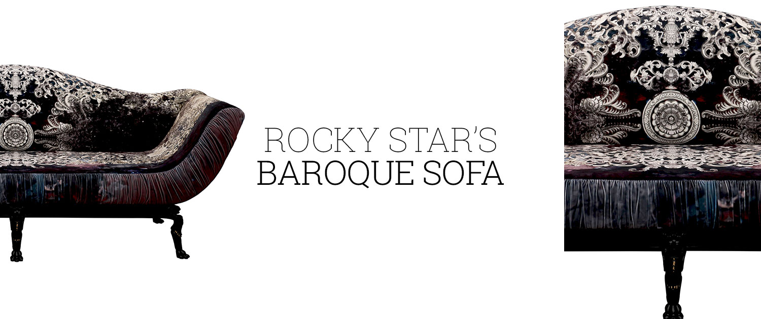 Rocky Star's Baroque Sofa