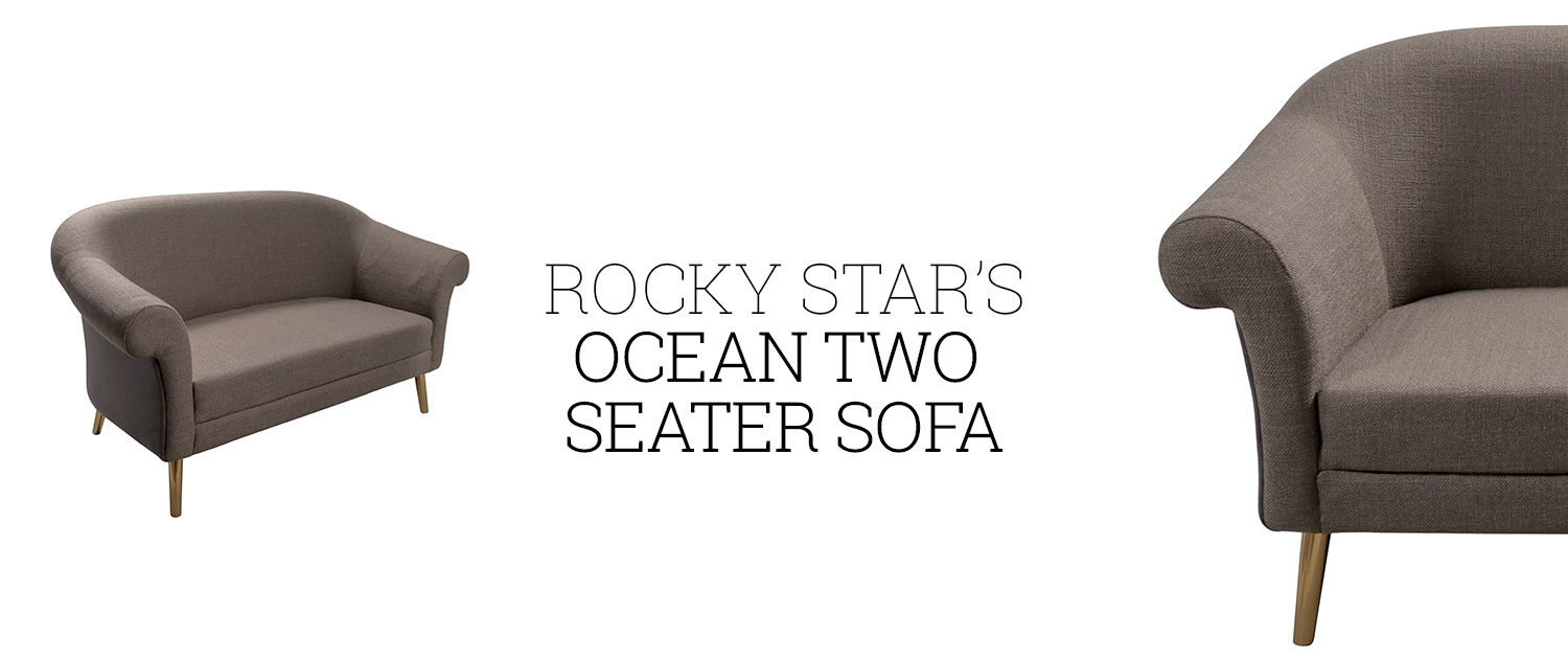 Rocky Star's Ocean Two Seater Sofa