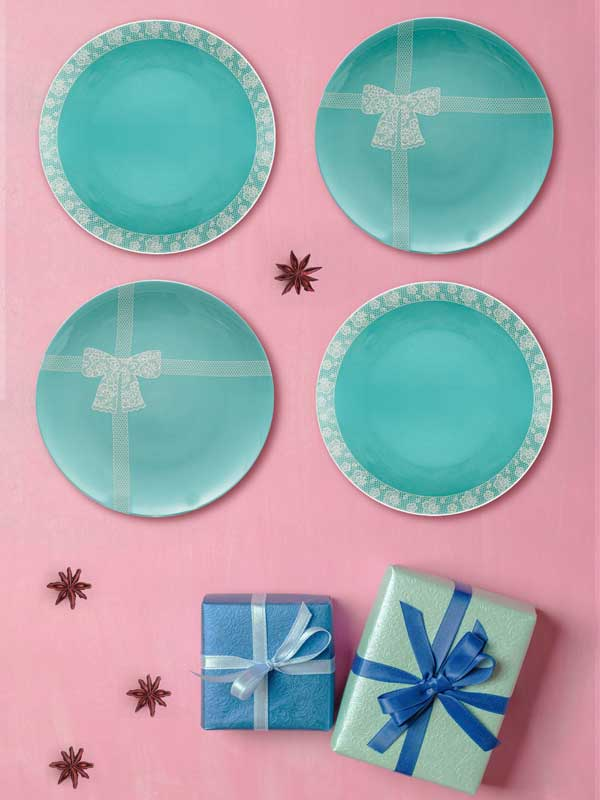 Tiffany Series Plate (Set of 4)