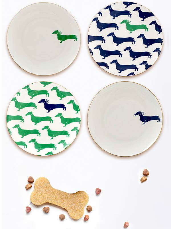 Dachshund Plate (Set of 4)