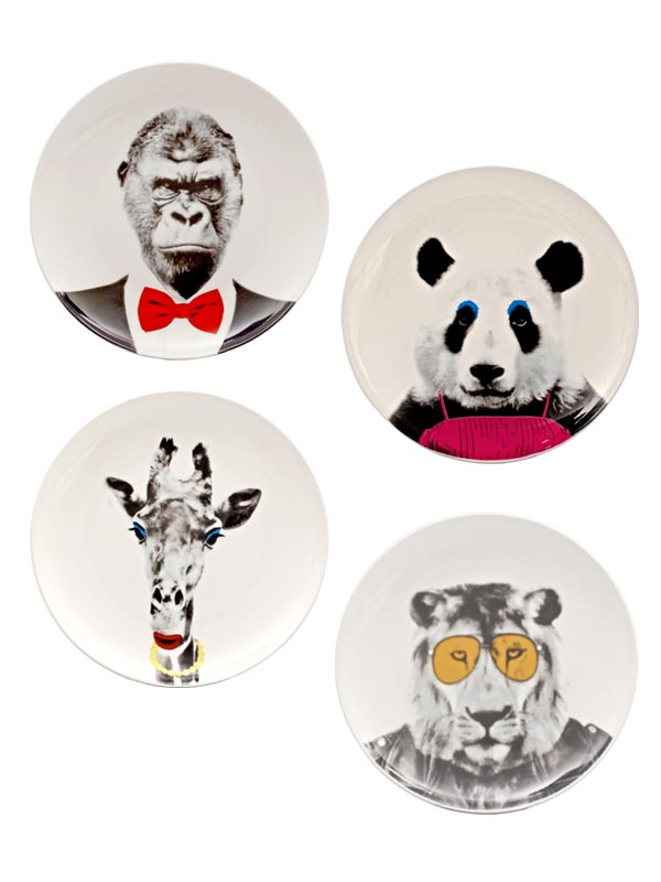 Vogue Plate  (Set of 4)