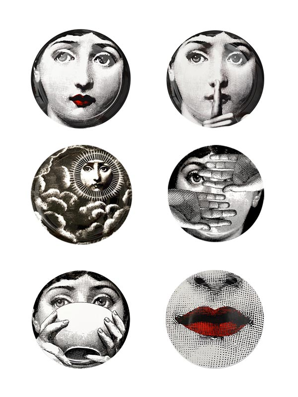 Woman Series Plate (Small) (Set of 6)