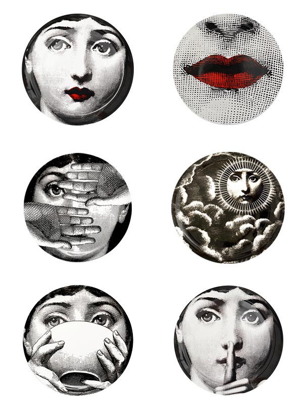 Woman Series Plate (Big) (Set of 6)