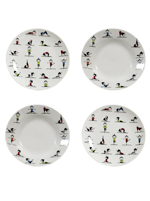 Yoga Plate (Set of 4)