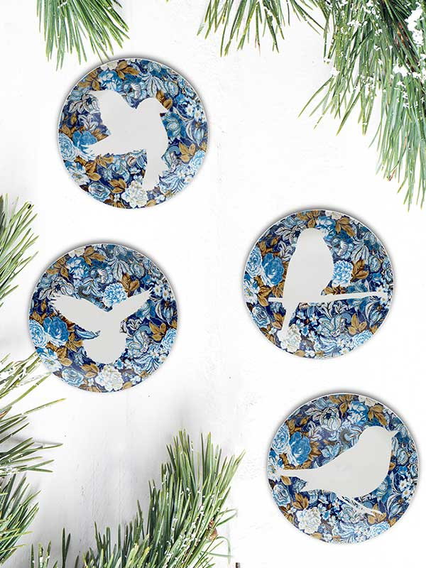 Dove Plate (Small) (Set of 4)