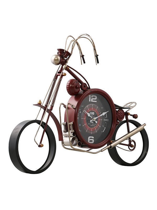 Motorcycle Wall Clock