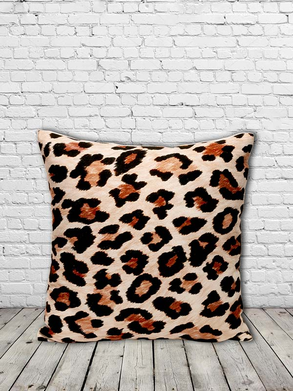 Jaguar Print Cushion (Set of 2)