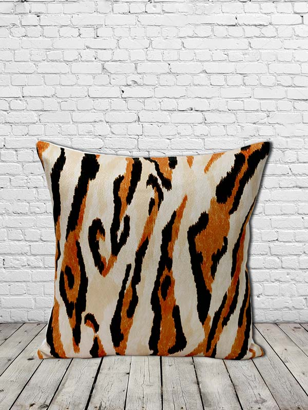 Tiger Print Cushion (Set of 2)