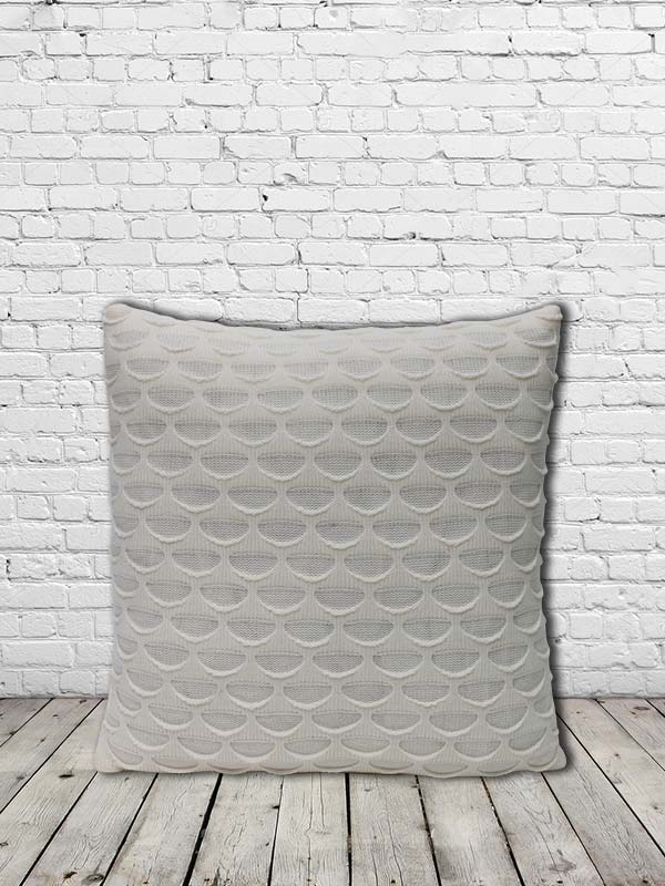 Knot Wool Cushion (Off-White) (Set of 2)
