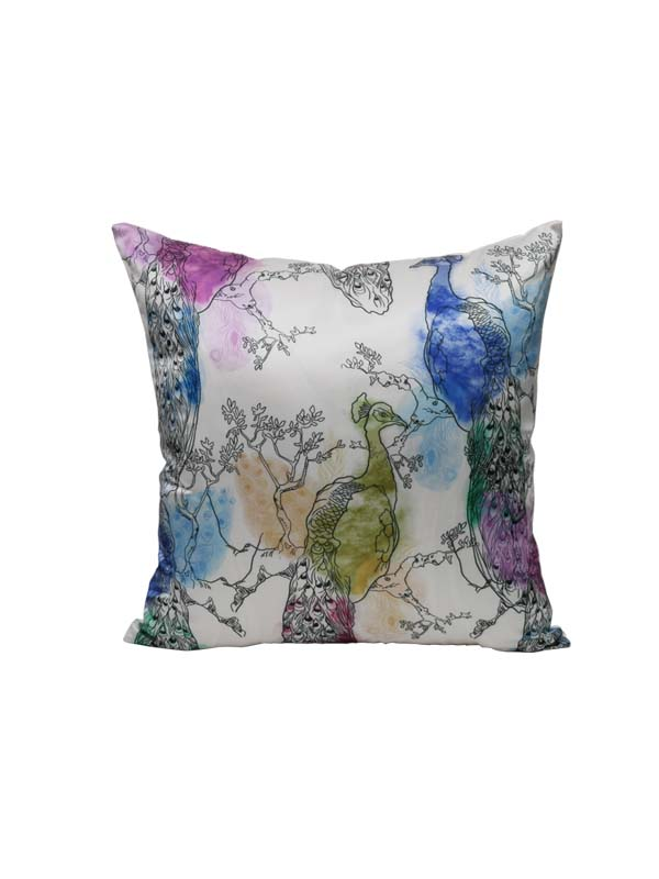 Peacock Stark Cushion (Set of 2)