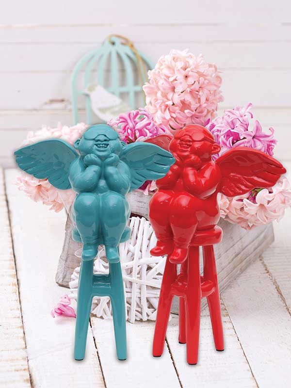 Winged Cupid Angels (Set of 2)