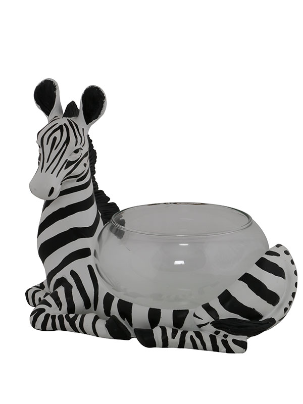 Zebra Decorative Bowl