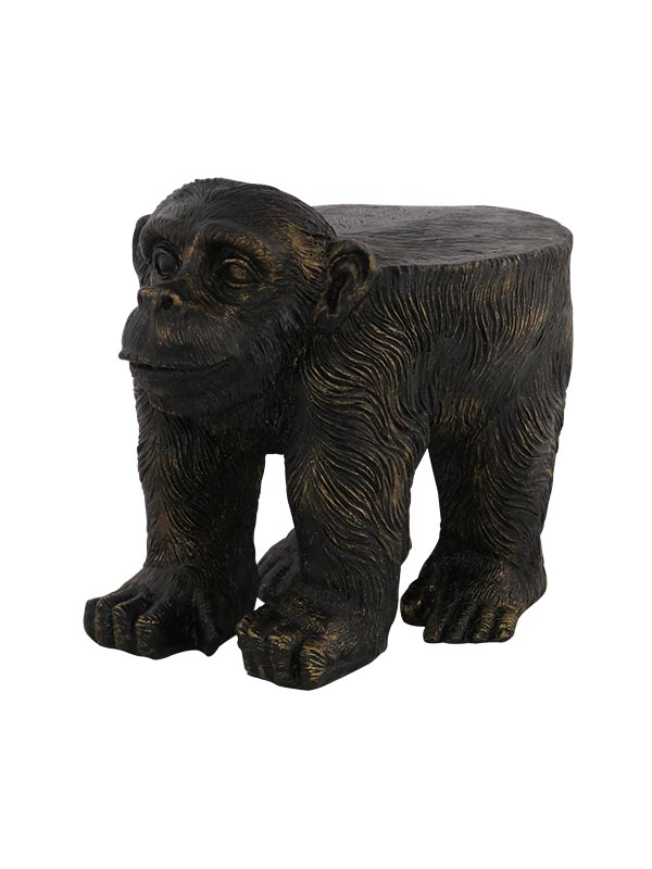 Monkey Stool Sculpture
