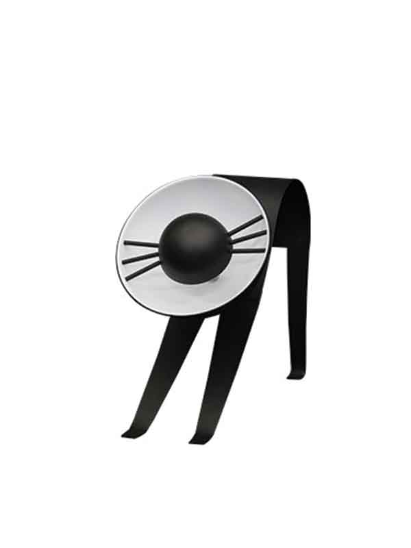 Clumsy Black Cat Lamp