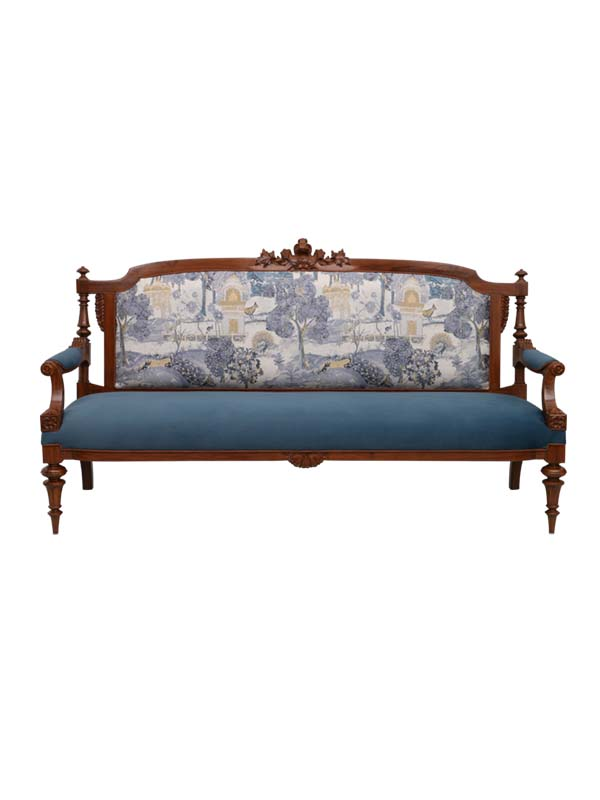 Aura Sofa (Blue)