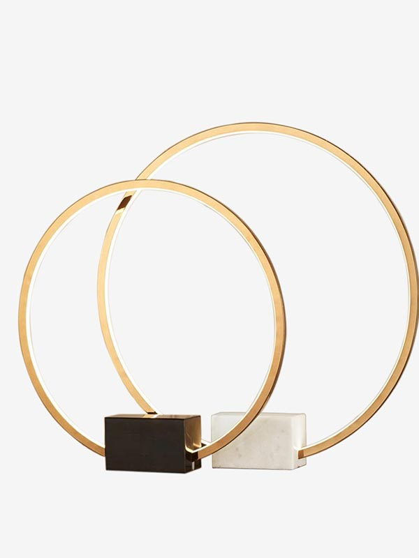 Ring of Light Table Lamp