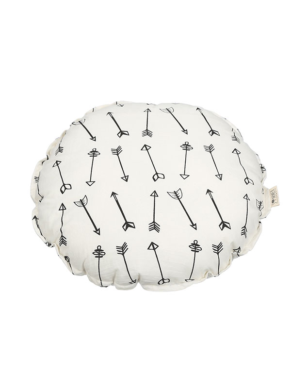 Arrow Round Cushion