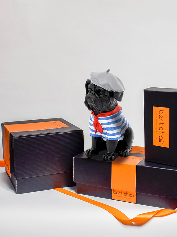 Sailor Pug Showpiece