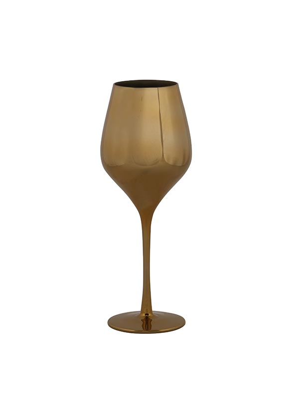 Golden Martini Wine Glass (Set of 2)