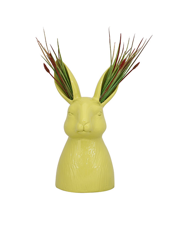 Rabbit Ear Resin Vase