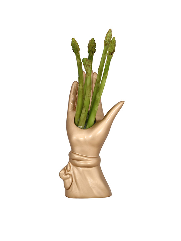 Hand of Gold Vase