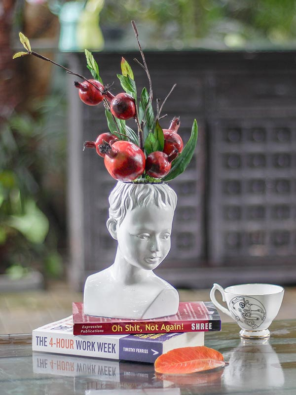 The Gallant Face Vase
