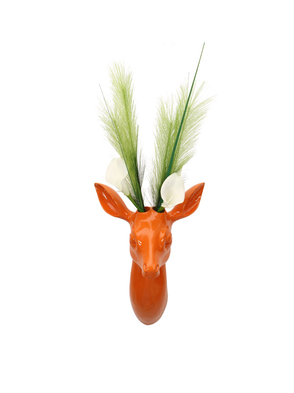 Deer Head Planter