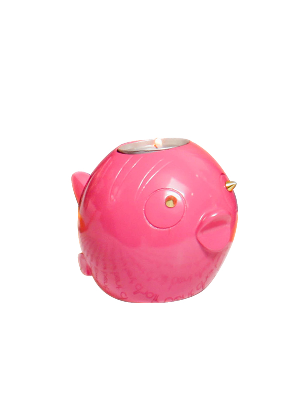 Fish Tea Light Holder (Pink)