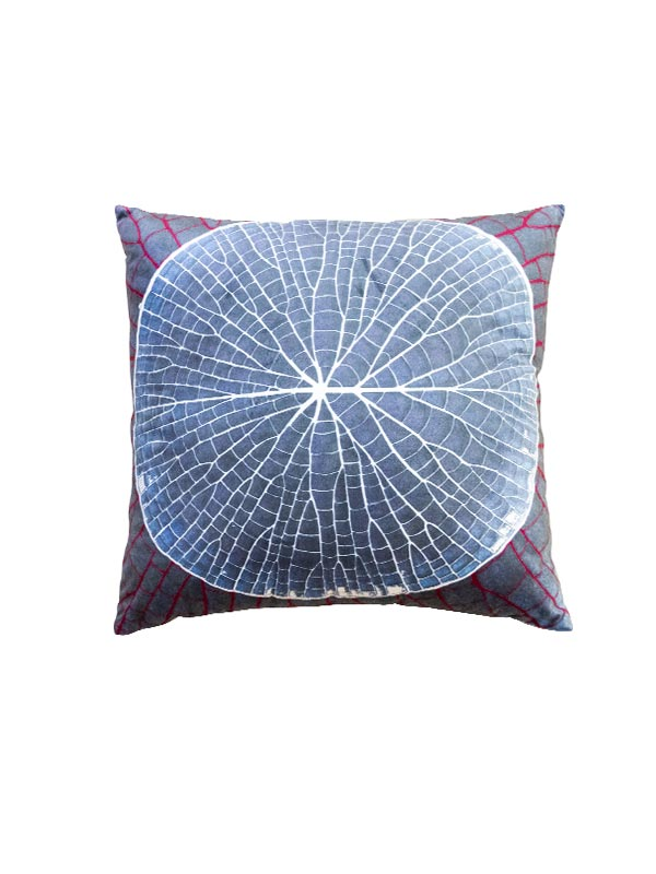 Blue Lotus Leaf Cushion