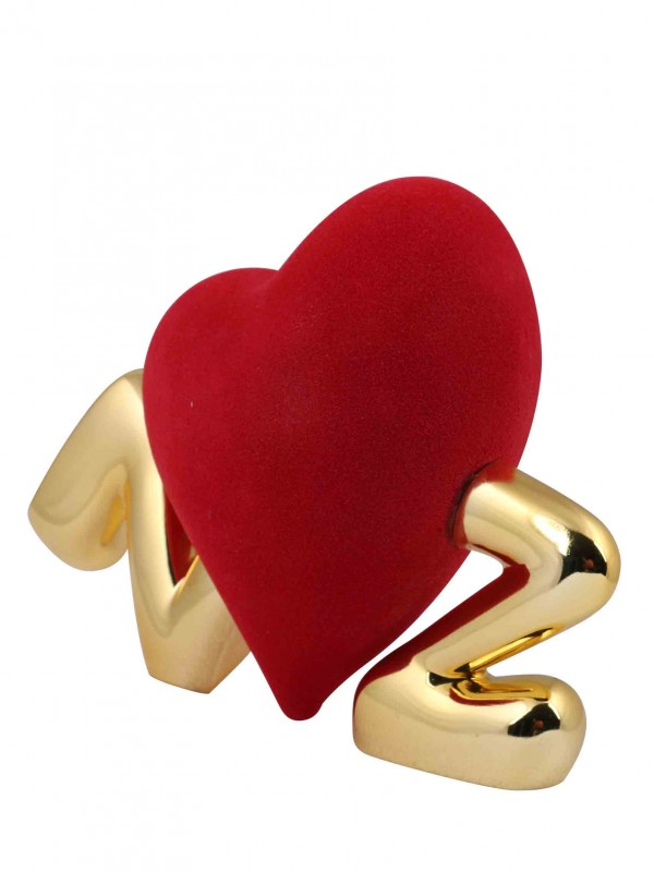 Running Heart Sculpture