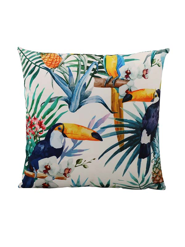 Toucan Bliss Cushion (Set Of 2)