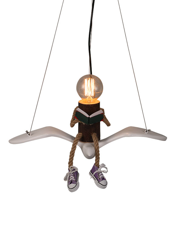 Scholar Hanging Light 1