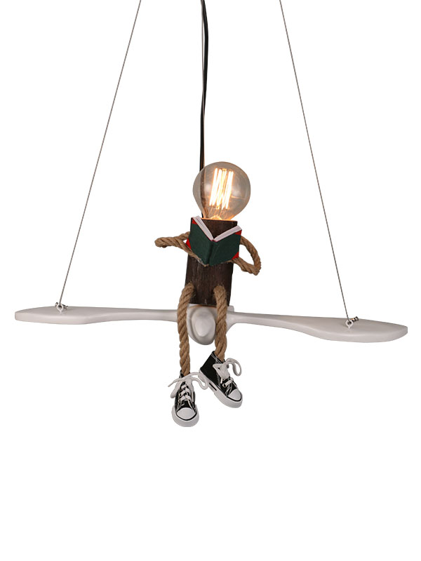 Scholar Hanging Light 2