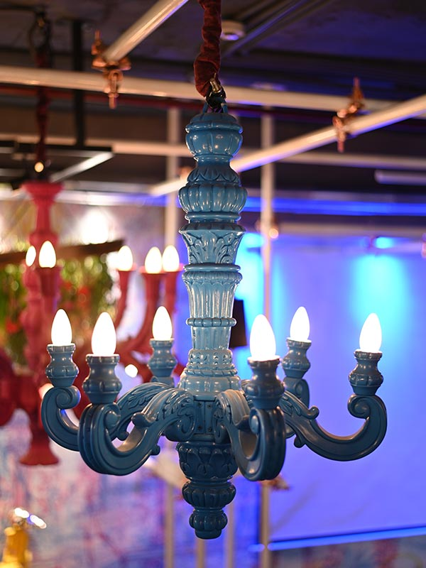WHILOM BRIGHT CHANDELIER (BLUE)