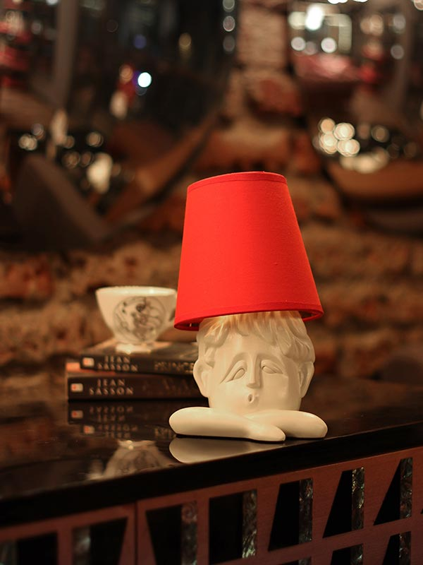 Muzzy Face Table Lamp