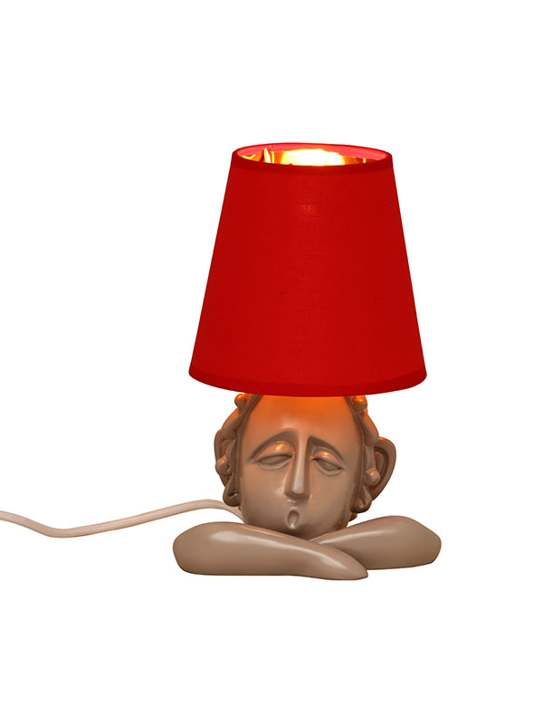 Woozy Face Table Lamp