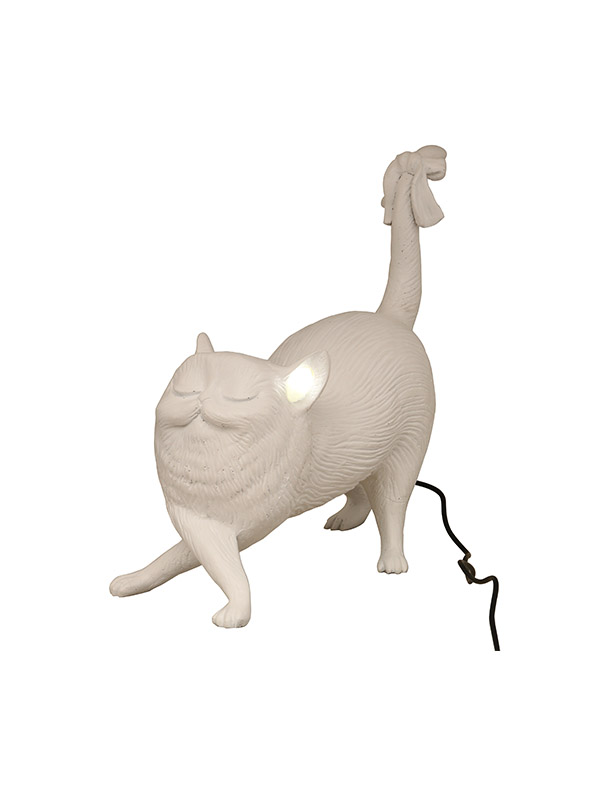Poised Cat Table Light