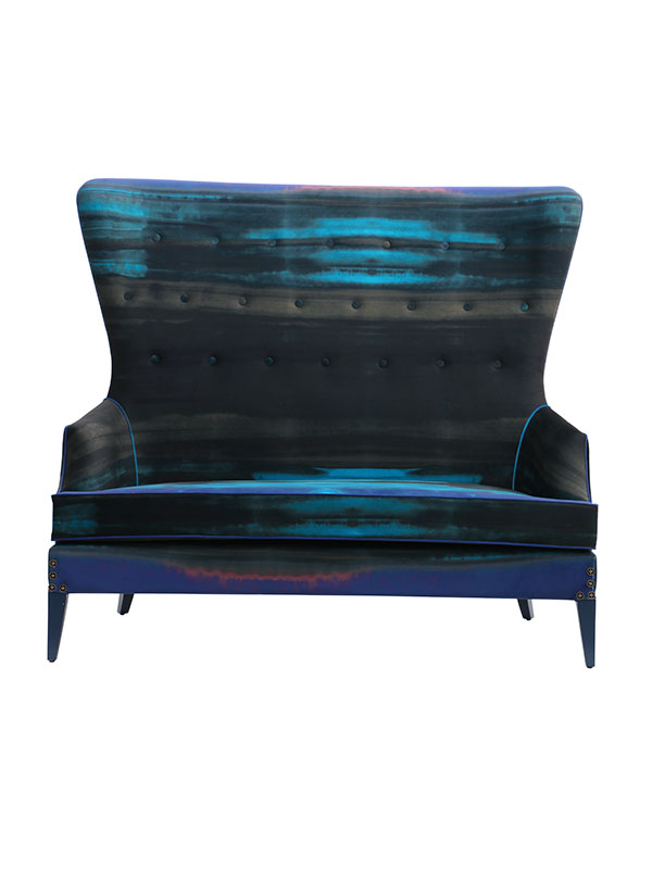 Emerald Wing back Sofa