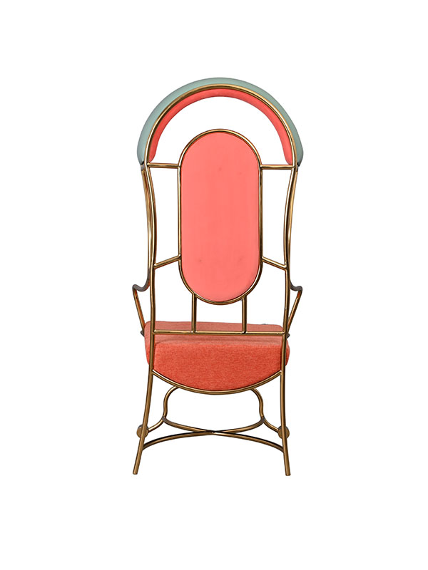 Reed Metallic Chair