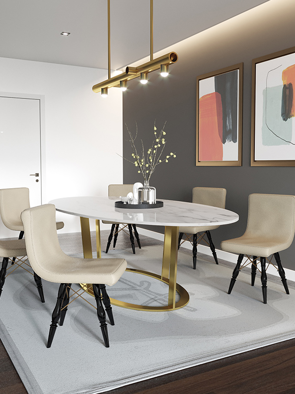 Halo Dining Table Set